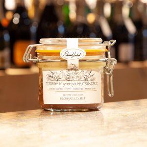 Terrine d'Agneau de Provence, Citron confit, Thym, Romarin, Immortelle Maison Telme