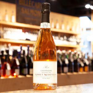 Champagne Gonet-Medeville 1er Cru Rosé Extra Brut