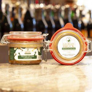 Foie gras d'Oie Entier de Strasbourg Georges Bruck 120g
