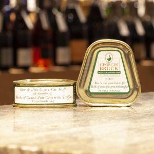 Bloc de Foie gras d'Oie Truffé à 3% Georges Bruck 75g