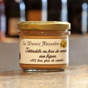Tartinable Foie de Canard Figues Le Manoir Alexandre 90g