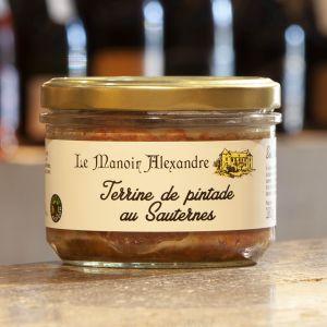 Terrine de Pintade au Sauternes Le Manoir Alexandre 180g