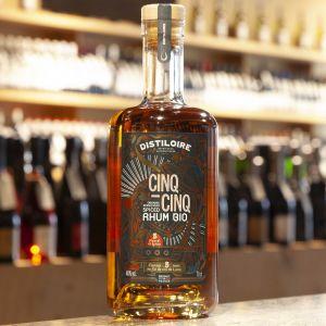 Distiloire Spiced Rhum Cinq-Cinq -bio-